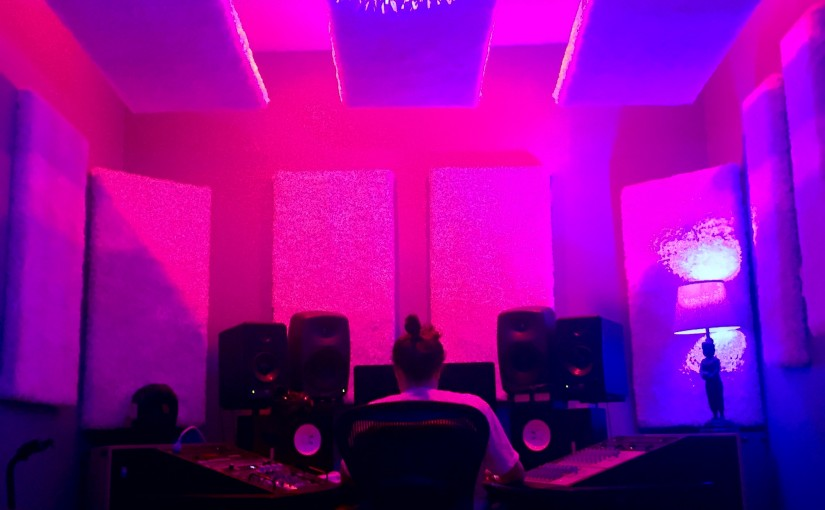Mixing at the NEW Fish Tank – Recording Studio Miami FL!